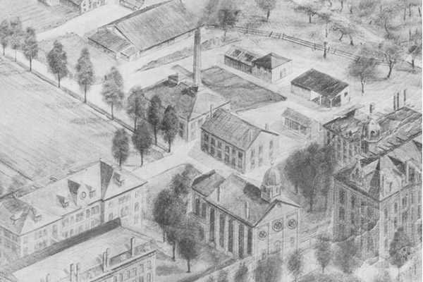 Campus in the 1900s