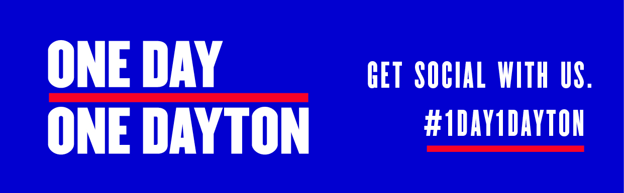 One Day, One Dayton - Get social with us! #1Day1Dayton