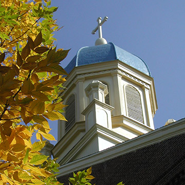 Chapel in Fall