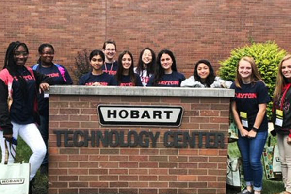 WIE Summer Camp Day with Industry at Hobart Technology Center