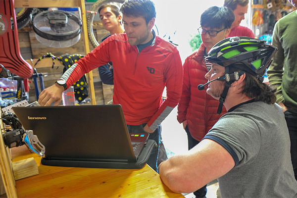 Innovation Center Project: Voice-Activated Handcycle Shifting Device