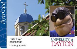 Flyercard University Of Dayton Ohio