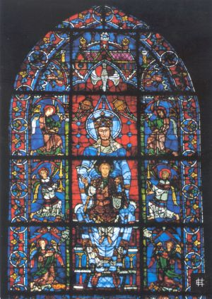 Chartres Belle Verri 232 Re Window University Of Dayton Ohio