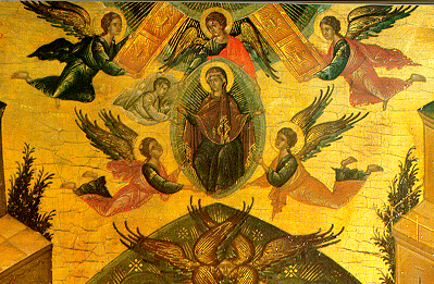 An Unusual Thing About Byzantine Icons Is The Way In Which Phenomenon Of Time Portrayed Sequenced Events Occur All Same Plane As Eye