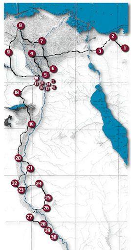 Flight Into Egypt University Of Dayton Ohio - Map of zeitoun egypt