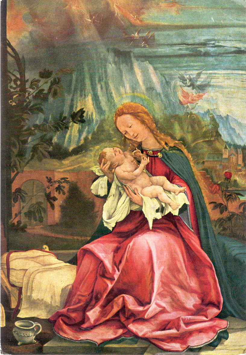 Grunewald Isenheim Altarpiece Images of the Madonna ...