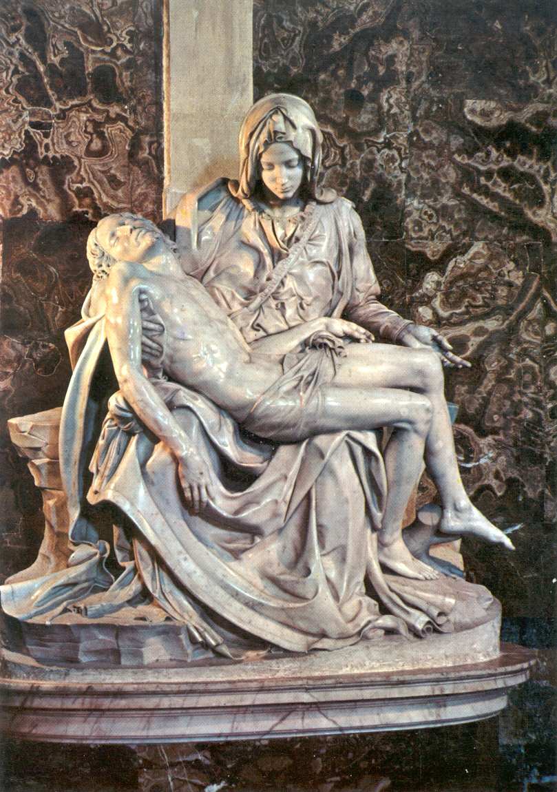 the pieta essay This essay compares michelangelo's first pieta with its medieval predecessors from the southern low coun- tries the purpose is to suggest that in reacting to flemish models michelangelo remained consistent in his views on flemish art in the particular ways he departed from those.