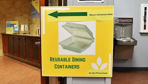 New reusable containers