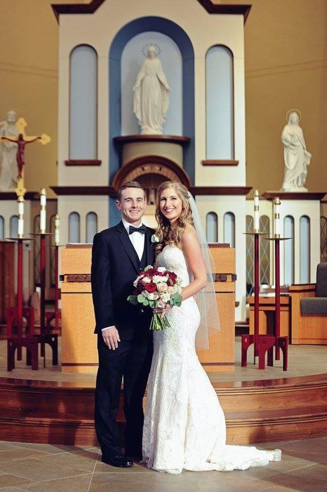 Marriage At The Chapel Of Immaculate Conception