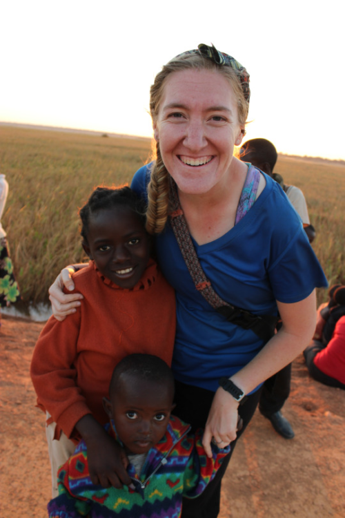 Julie Benedetto in Zambia