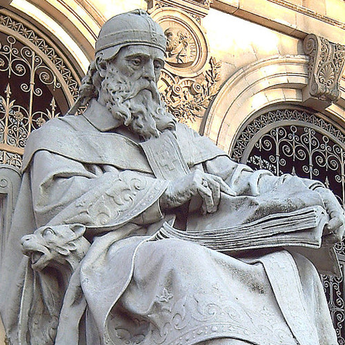 Statue of St. Isidore of Seville